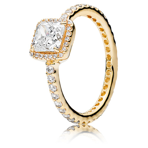 14K Gold Timeless Elegance Ring
