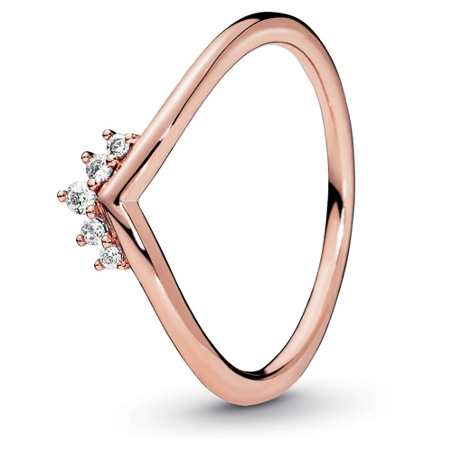 Pandora Rose ™ Tiara Wishbone Ring