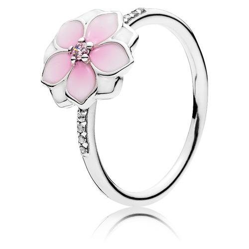 Pandora Jewelry Denmark: PANDORA Magnolia Bloom Ring :: Ring Stories 191026PCZ