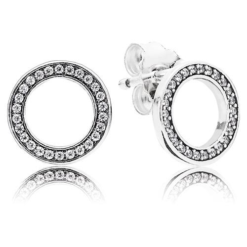9c4a11e85 Pandora Forever Pandora Earrings :: Earring Stories 290585CZ ...