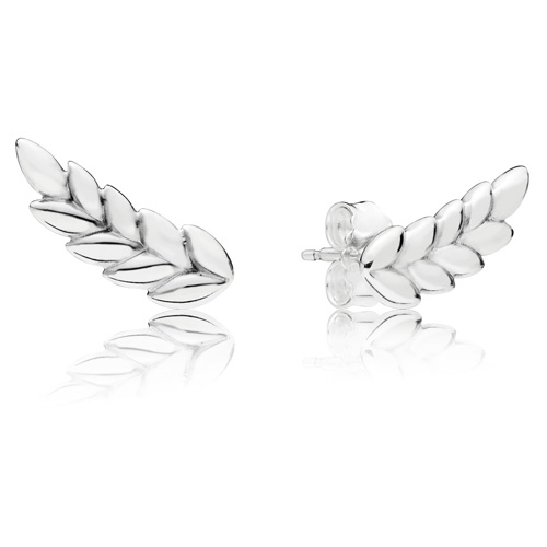 7e53ac56f Pandora Curved Grains Stud Earrings :: Earring Stories 297730 ...