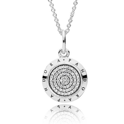 Pandora Jewelry Llc: PANDORA PANDORA Signature Necklace :: Necklace Stories