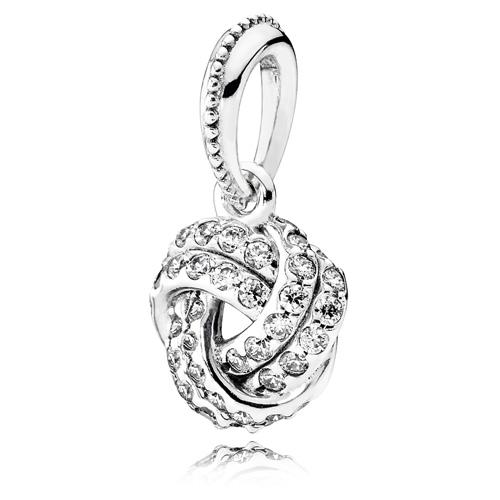 Pandora Jewelry Denmark: PANDORA Sparkling Love Knot Pendant :: Compose Pendants