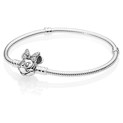 Disney Shimmering Minnie Portrait Bracelet