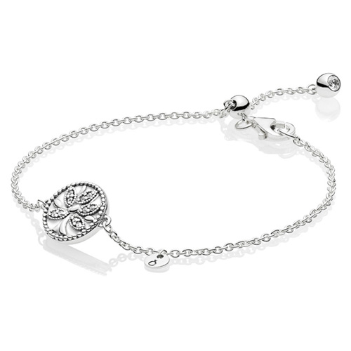 Tree of Life Bracelet with Sliding Clasp