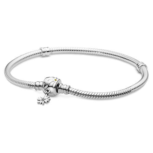Daisy Flower Clasp Pandora Bracelet