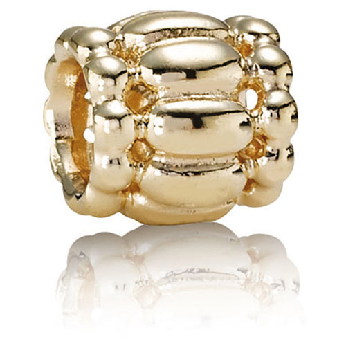 Pandora Jewelry Online Retailers: Retired Pandora 14K Gold Barrel Charm :: 14K Gold Charms