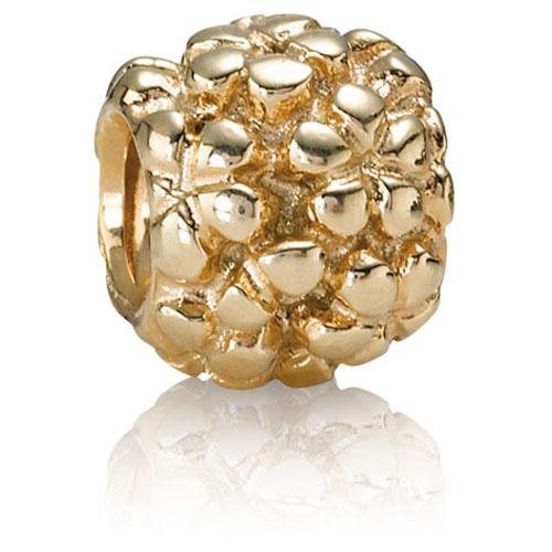 Pandora Jewelry Denmark: Retired PANDORA 14K Gold Flower Power Charm :: 14K Gold