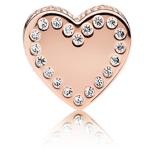 75e1d85ae PANDORA Rose™ ESSENCE DEDICATION Charm. Click here to enlarge image