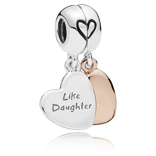 Pandora Rose ™ Mother and Daughter Love Dangle