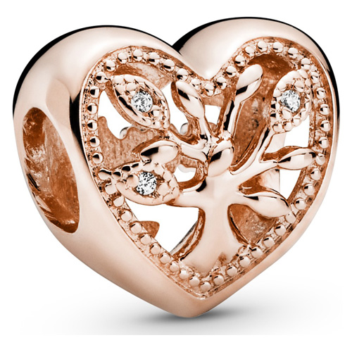 Pandora Rose ™ Family Tree Heart Charm