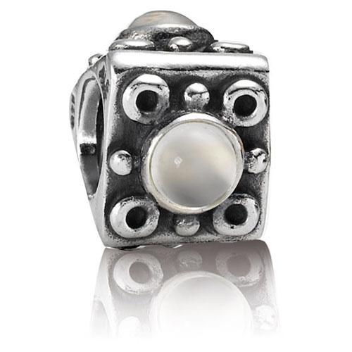 Pandora Moonstone Earrings: Retired PANDORA Moonstone Charm :: Gems With Sterling