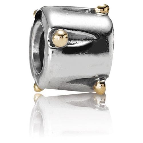 Retired Pandora Drum Charm 14k Gold Amp Sterling Silver