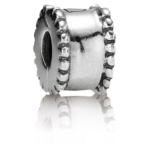 Pandora Jewelry St Louis: PANDORA Beveled Silver Clip :: Clips 790267 :: Authorized