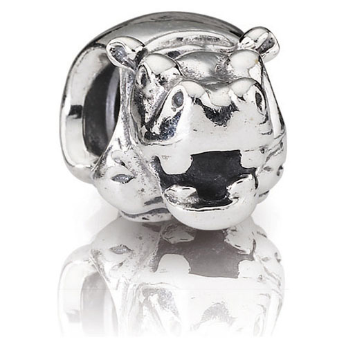 Pandora Jewelry Online Retailers: Retired PANDORA Hippo Charm :: Sterling Silver Charms