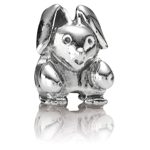 Retired Pandora Rabbit Charm Sterling Silver Charms