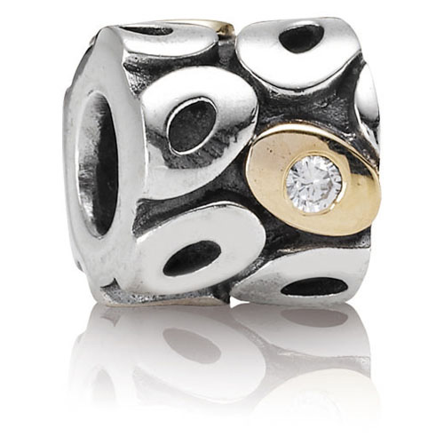 Pandora Jewelry St Louis: Retired PANDORA Oh My! Charm :: 14K Gold & Sterling Silver