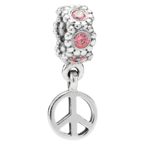 Pandora Jewelry St Louis: Retired PANDORA Peace Dangle :: Gems With Sterling Silver