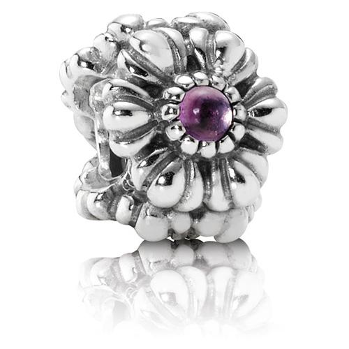 Pandora Jewelry Online Retailers: Retired PANDORA February Birthday Blooms :: Birthstone