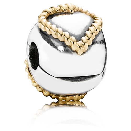 Pandora Jewelry Denmark: Retired PANDORA Braided Heart Clip :: Clips 790599