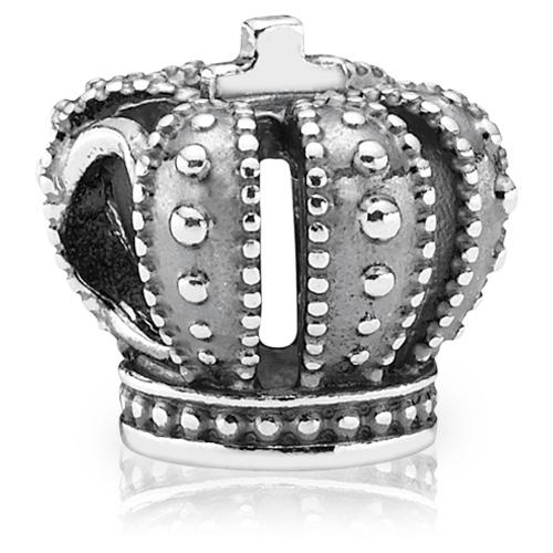 Pandora Jewelry Online Retailers: PANDORA Silver Royal Crown Charm :: Sterling Silver Charms