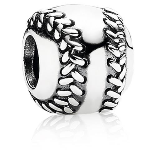 Pandora Jewelry Denmark: Retired PANDORA Baseball Charm :: Sterling Silver Charms