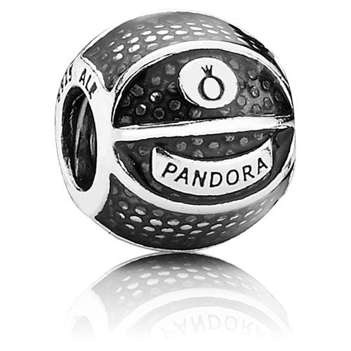 Pandora Jewelry Online Retailers: Retired PANDORA Basketball Charm :: Enamel Charms