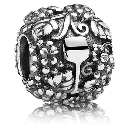 Pandora Jewelry Online Retailers: Retired PANDORA Vino Wine Charm :: Sterling Silver Charms