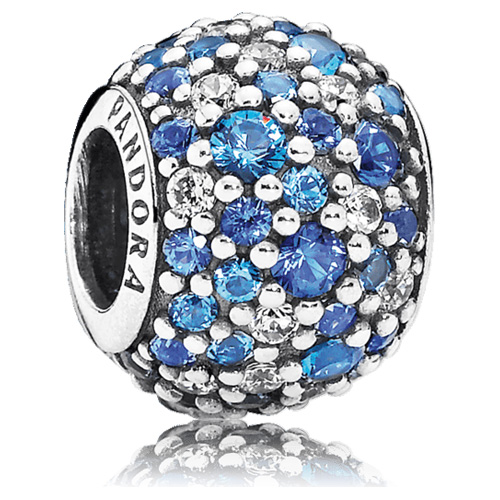 Pandora Jewelry St Louis: PANDORA Sky Mosaic Pave Charm With Multi-Color Zirconia