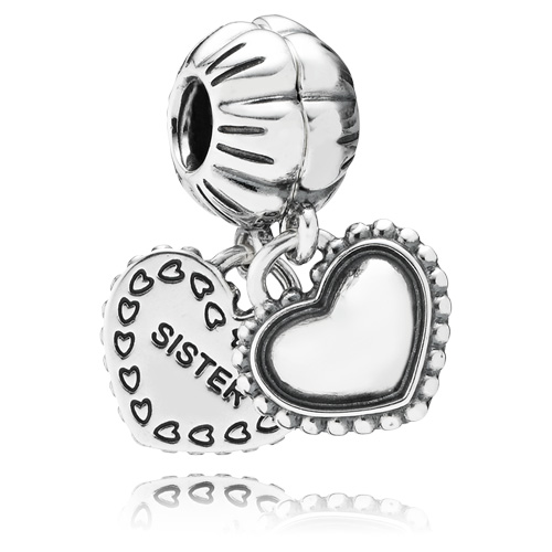 Pandora Jewelry St Louis: PANDORA My Special Sister Dangle Charm :: Sterling Silver