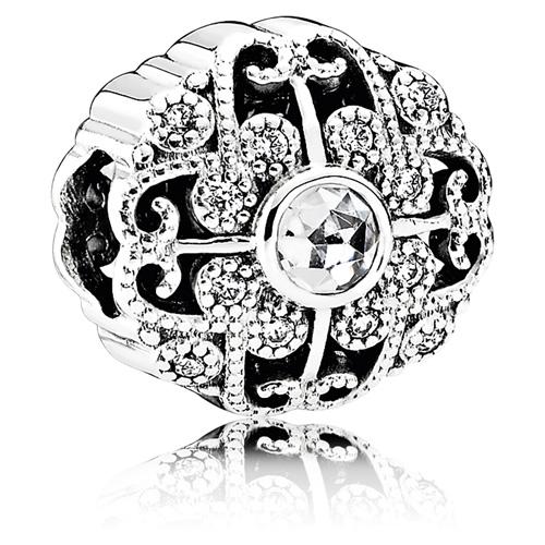 Pandora Jewelry Denmark: Retired PANDORA Fairytale Bloom Charm :: Gems With