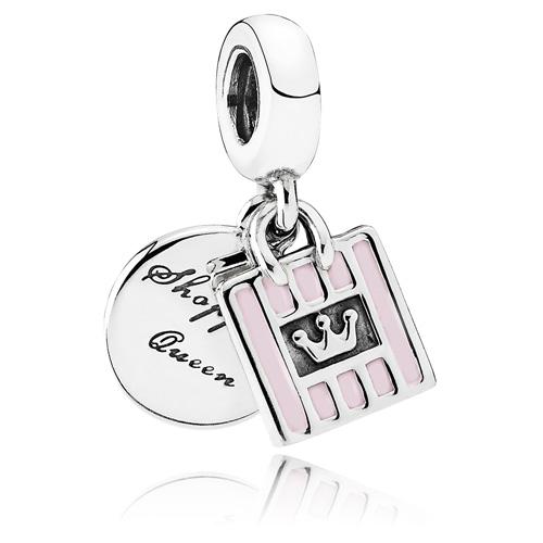 Pandora Jewelry Online Retailers: PANDORA Shopping Queen Dangle :: Enamel Charms 791985EN40