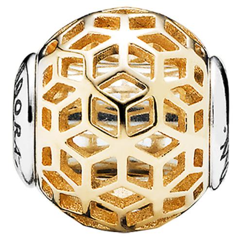 Pandora Jewelry Online Retailers: PANDORA ESSENCE Intuition Two-Tone Charm :: ESSENCE Two