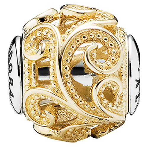 Pandora Jewelry Online Retailers: PANDORA ESSENCE Creativity Two-Tone Charm :: ESSENCE Two