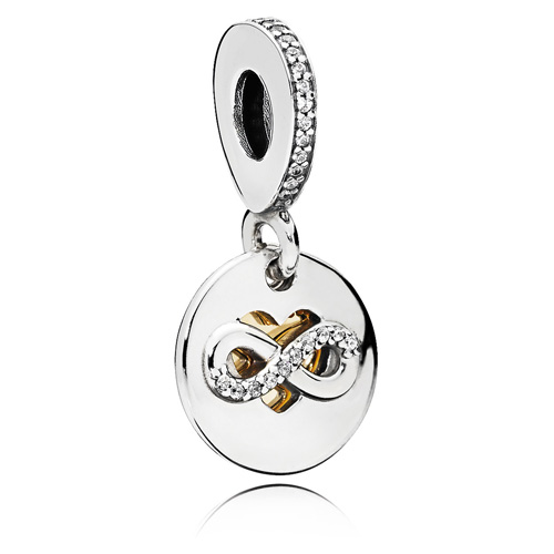Pandora Jewelry Denmark: Pandora Heart Of Infinity Dangle :: Gems With Sterling