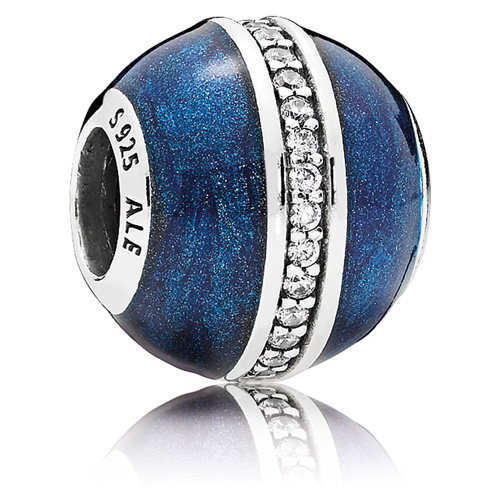 Pandora Jewelry Denmark: Pandora Orbit Charm :: Enamel Charms 796377EN63