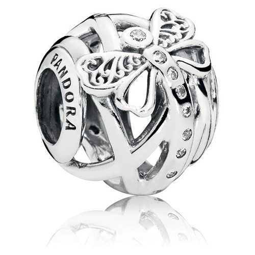 Pandora Dreamy Dragonfly Charm Gems With Sterling