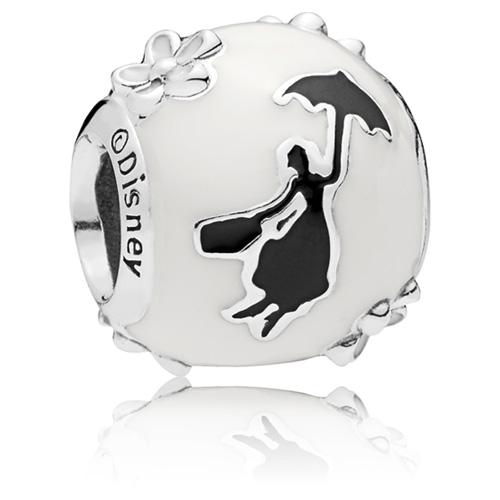Disney Mary Poppins Silhouette Charm