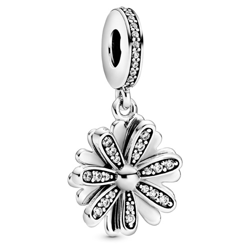 Sparkling Daisy Flower Dangle
