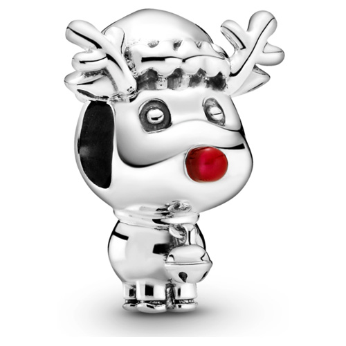 Red-Nosed Reindeer Charm