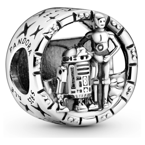 Star Wars C3PO and R2D2 Charm