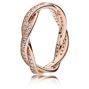 Pandora Rose ™ Twist of Fate Ring