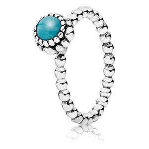 d82eea42a Retired Pandora December Birthday Bloom Stackable Ring :: Ring Stories  190854TQ :: Authorized Online Retailer