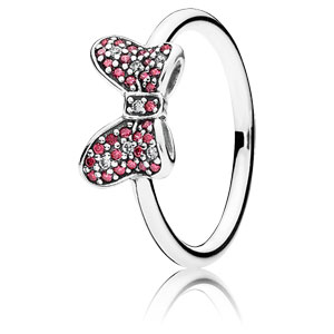 Disney Minnie's Sparkling Bow Ring