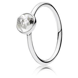 April Droplet Ring