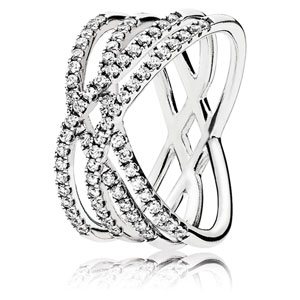 Cosmic Lines Ring