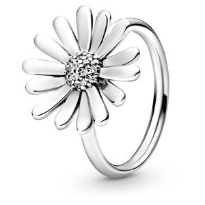Daisy Flower Statement Ring