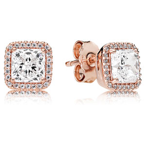 Pandora Rose ™ Timeless Elegance Stud Earrings