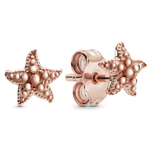 Pandora Rose ™ Beaded Starfish Stud Earrings
