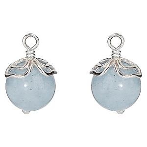 Aquamarine Trinity Earring Charm